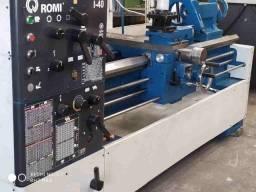 Torno mecânico Romi mod i 40 entre pontas de 1500mm