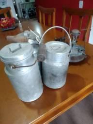 Tarros para colocar leite
