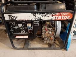 Gerador diesel 3.8kva toyama