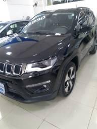 Jeep compass longitude 2018 preto automatico