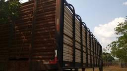Gaiola boiadeira 8.80 mts toda de ferro
