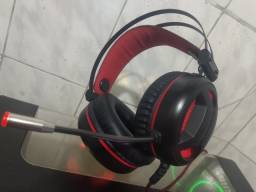 Headset Gamer Redragon Minos Audio 7.1 Usb, H210