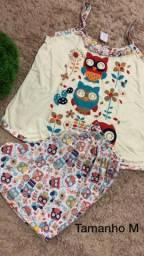 Pijamas femininos e infantil