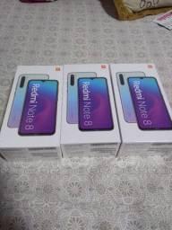 Redmi note 8 4 GB de RAM e 64 GB de memória interna