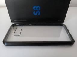 Capinha Case de Vidro Imantada Importada Galaxy S8 Normal