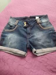 Bermuda Jeans em Laycra 48