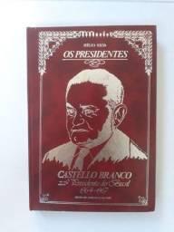 Livros Os Presidentes, Castello Branco e Getulio Vargas 20,00 Unidade