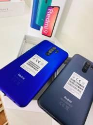 Xiaomi Redmi 9 128 GB Azul/Preto (LOJA FÍSICA)