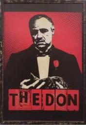 Quadro Gravura Vintage The Don Corleone