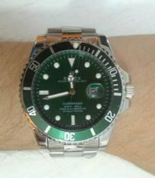 Relógio Rolex Fundo Verde
