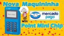Maquininha De Cartão Point Mini Chip - Ultimas Unidades