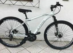 Bike aro29, quadro17 c/ 24v(valor final, não aceito troca)