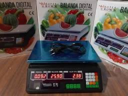 Balança digital 40kg nova na caixa com garantia entrego em Curitiba e região