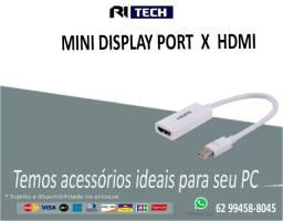 Cabo Adaptador Mini Displayport thunderbolt X Vga