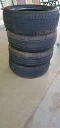 Vendo pneus XBRI 205/55 roda 16
