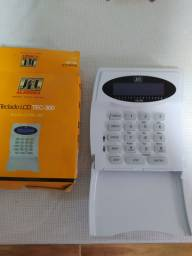 Teclado LCD TEC-300 JFL para Alarme