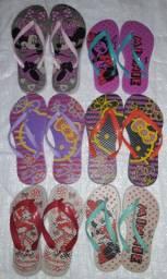 Sandálias verão adulto e infantil direto da fábrica