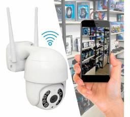 Camera Ip  Icsee Wifi Externa Ptz Speed Dome Prova Água Zoom
