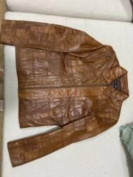 Jaqueta de couro legítimo M