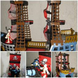 Navio Imaginext Pesadelo do Mar