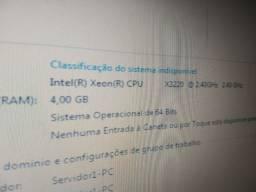 Servidor Xeon Quad Core 4gb ram HD de 320Gb