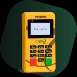 Maquininha de cartão PagSeguro Minizinha Chip 2