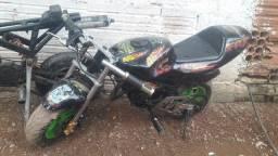 Vendo mini moto ninja