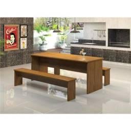 mesa com bancos para churrasqueira