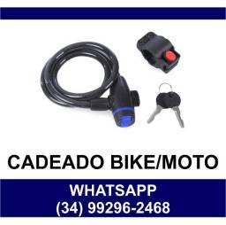 Cadeado Para Bike Bicicleta e Moto 90cm