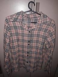 Blusa quadriculada