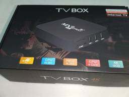 Tv box 8ram 128 interna Android 11.1 wi-fi 5G