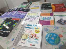 Título do anúncio: Vendo coleção de livros para estudantes de Farmácia