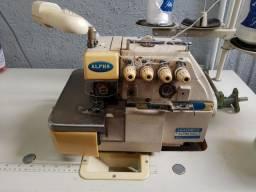 Máquina overlock 4 fios 2 agulhas