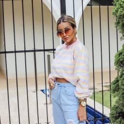 Blusa Tricot Fashion Inverno (LOJA ON-LINE)