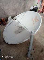 Antena sky pra vender logo