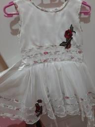 Vestido infantil TAM 3 anos
