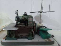 Maquinas de costura Overlock simi industrial e galoneira portatil