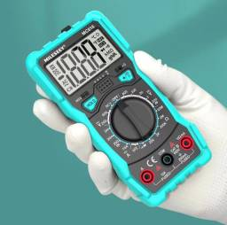Multímetro digital MC616 Milessey NCV,lanterna,back ligthBip,Led buzzer,Led NCV