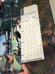 Kit teclado e mouse luminoso
