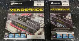 Memória DDR3 4gb 1600mhz Corsair Vengeance.