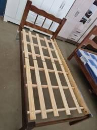 Cama De Solteiro madeira nova