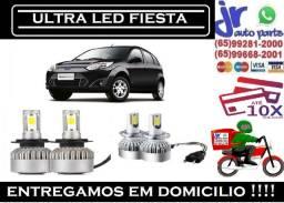 Lampada Ultra LED (Baixa)Ford Fiesta 6000K 12V 24V