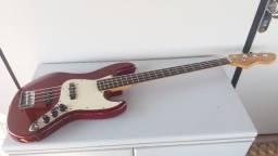 Baixo Michael 4 cordas, modelo Jazz Bass, com captadores Fender