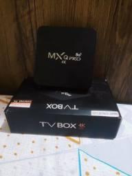 Tv box MX Qpro 4K 5G vendo ou troco