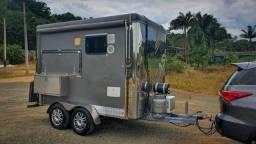 Trailer completo camping (motorhome a venda)