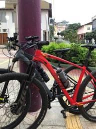 bicicleta oggi 7.5 quadro 19 2021 vermelha
