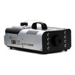 Maquina de Fumaça 2000W 8 Leds RGBW LUATEK LK-Y11