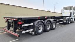 Carreta Porta Container Bug Ano 2022 Zero Km - 12 Locks