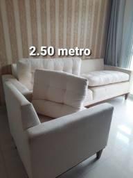 Sofa no Linho Bege