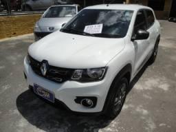 Renault Kwid 2019 Intense Top de Linha 36mkm Ún Dono Couro Abs 4 Air Bags Multimedia